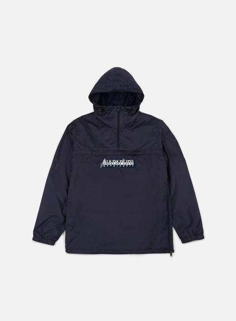 giacche napapijri aumo jacket blu marine
