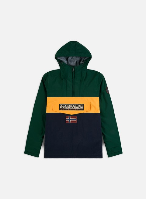 Winter Jackets Napapijri Rainforest Block Anorak
