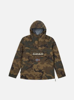 Napapijri - Rainforest Camou 1 Anorak, Green Camo