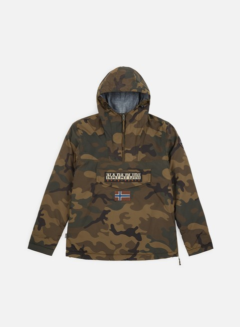 Winter Jackets Napapijri Rainforest Camou 1 Anorak