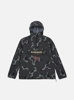 Napapijri - Rainforest Camou 1 Anorak, Grey Camo