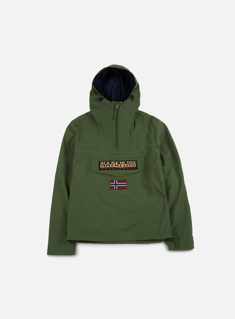 giacche napapijri rainforest slim summer anorak greener