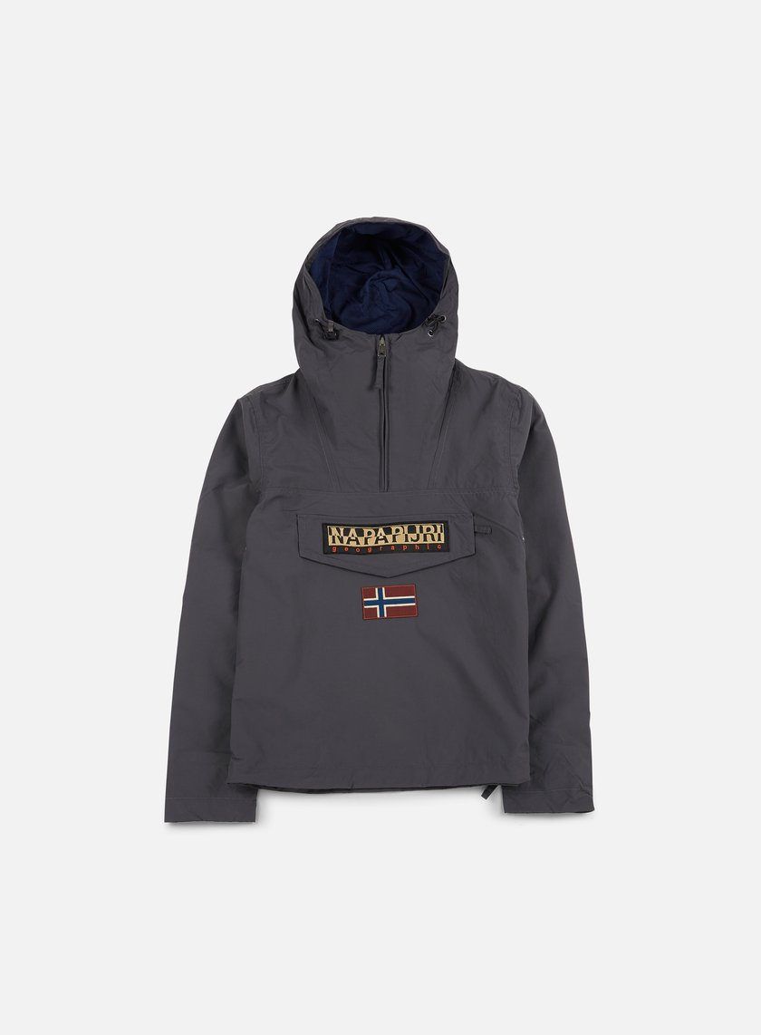 Napapijri - Rainforest Slim Summer Anorak, Volcano
