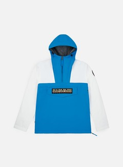 Napapijri - Rainforest Team Winter Anorak, Light Blue/White