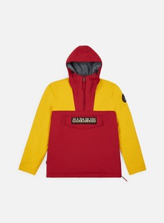 Napapijri - Rainforest Team Winter Anorak, Red/Yellow