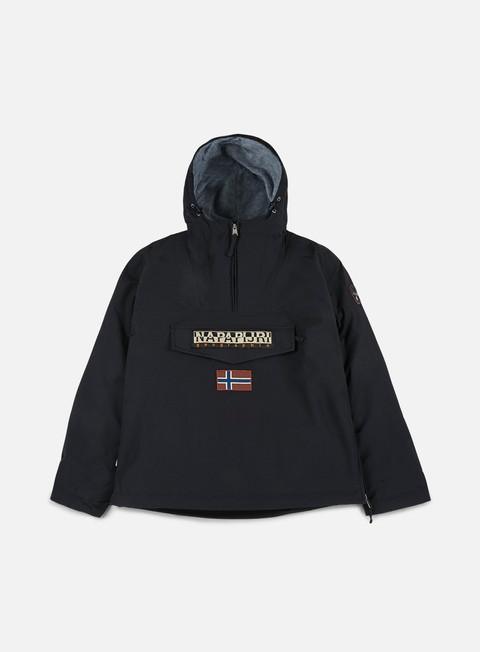 giacche napapijri rainforest winter anorak black