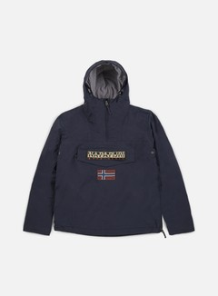Napapijri - Rainforest Winter Anorak, Blu Marine
