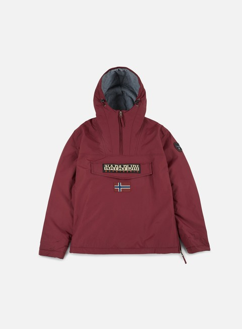 giacche napapijri rainforest winter anorak bordeaux