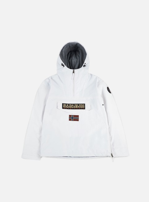 giacche napapijri rainforest winter anorak bright white