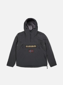 Napapijri - Rainforest Winter Anorak, Dark Grey Solid