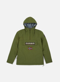 Napapijri - Rainforest Winter Anorak, Green Musk