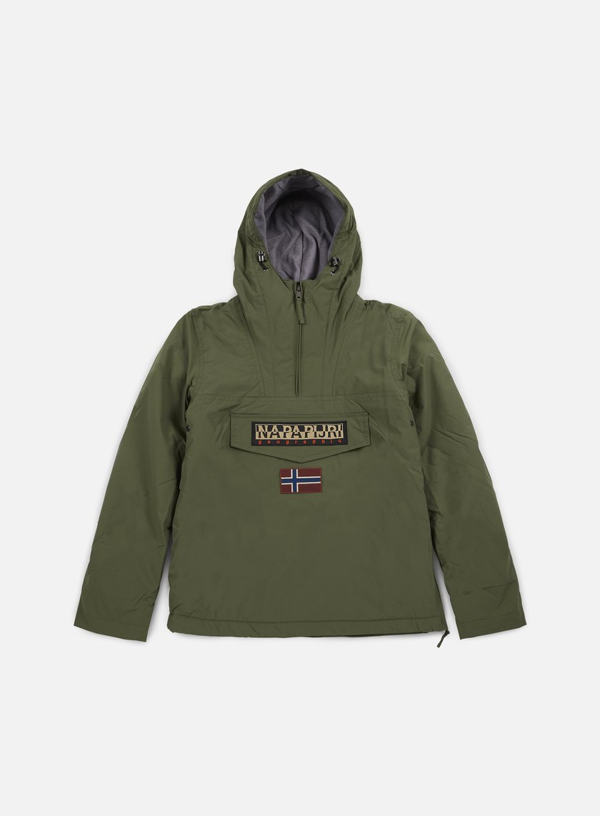 Napapijri - Rainforest Winter Anorak, Light Olive