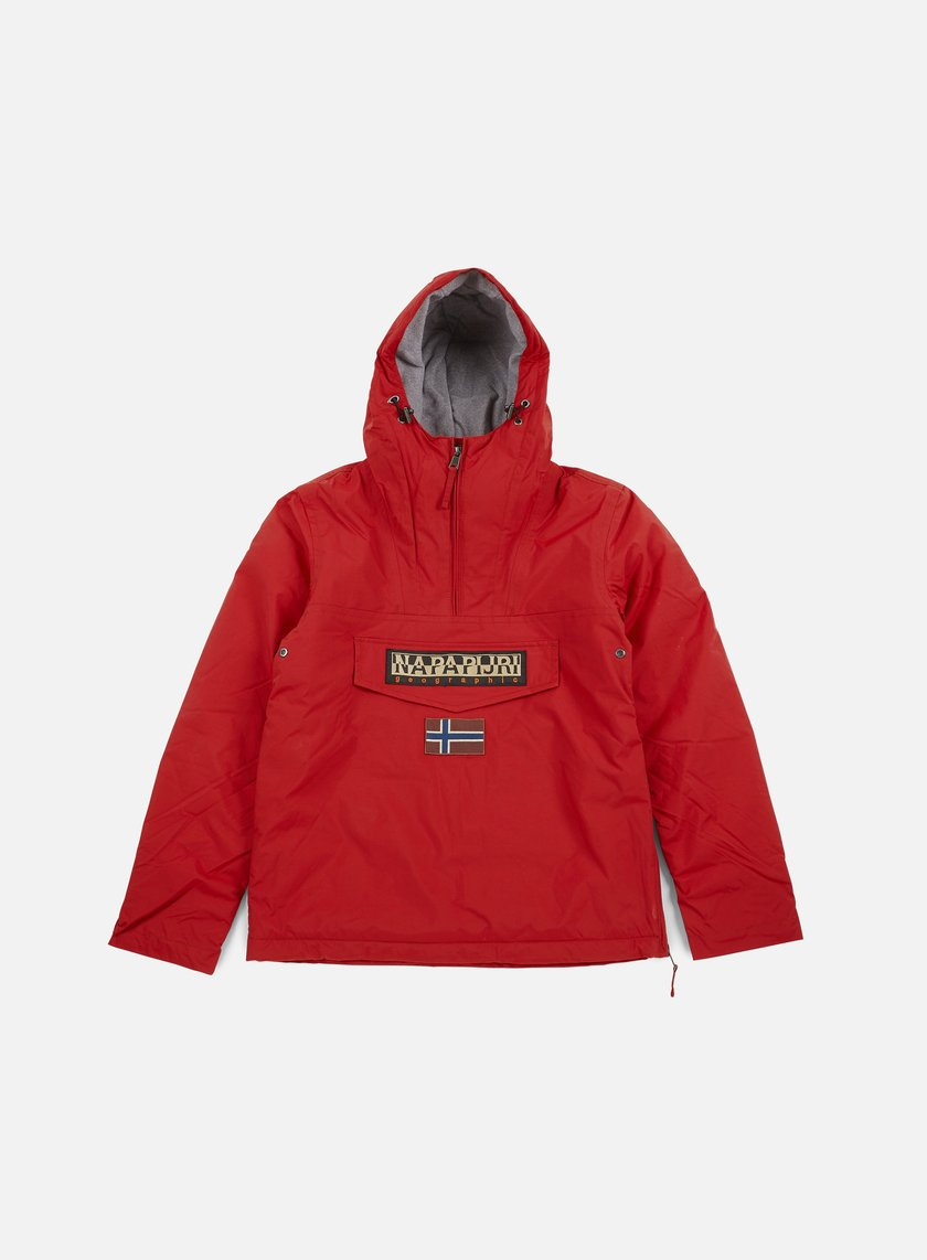 Napapijri - Rainforest Winter Anorak, Old Red
