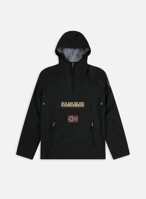 giacche napapijri rainforest winter pocket anorak black