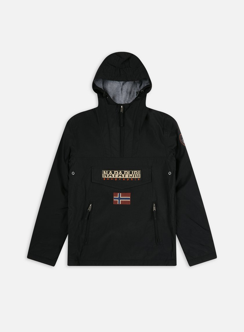 Napapijri - Rainforest Winter Pocket Anorak, Black