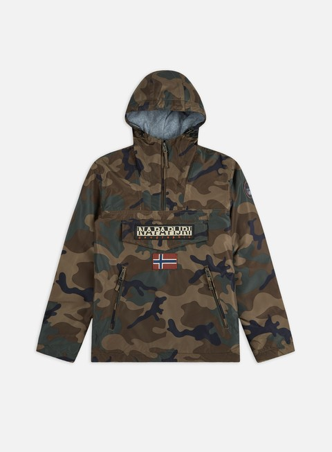 Giacche Invernali Napapijri Rainforest Winter Pocket Print Anorak