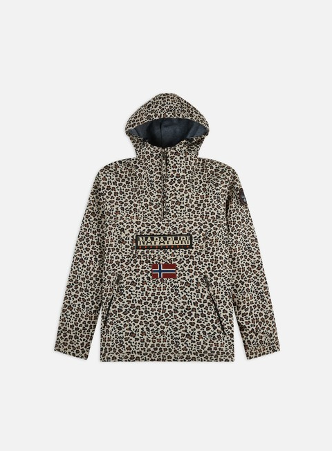 Winter Jackets Napapijri Rainforest Winter Pocket Print Anorak