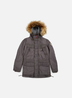 Napapijri - Skidoo Open Wax Jacket, Dark Grey Solid 1