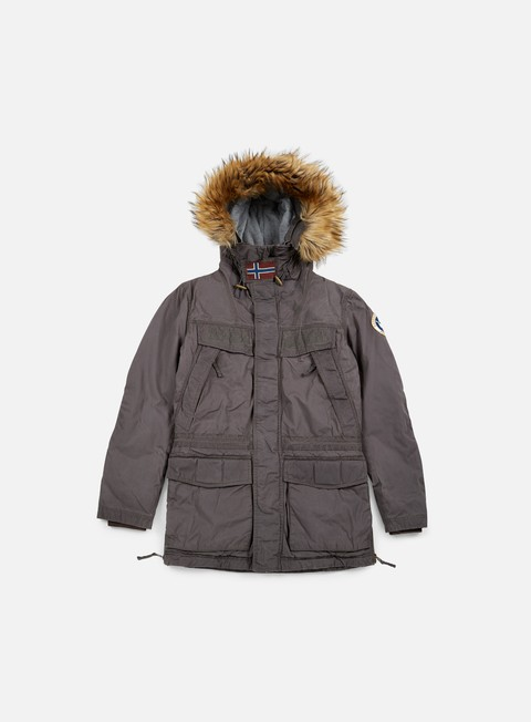 Winter Jackets Napapijri Skidoo Open Wax Jacket