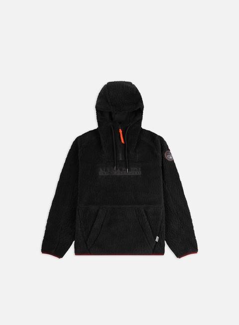 Sale Outlet Intermediate jackets Napapijri Teide 3 Hooded Fleece