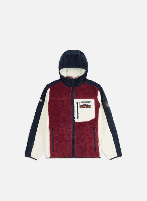 Sale Outlet Intermediate jackets Napapijri Yupik Full Zip Hooded Fleece
