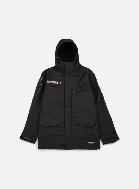 Outlet e Saldi Giacche Intermedie Neff Black Ops Softshell Jacket