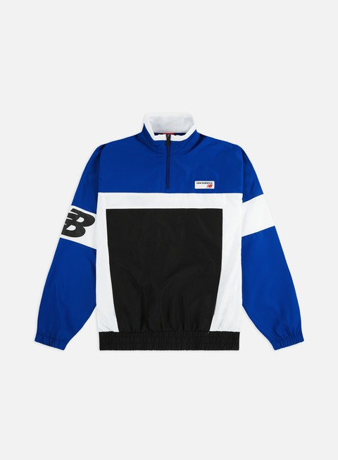 Outlet e Saldi Giacche Leggere New Balance Athletics Pullover Windbreaker