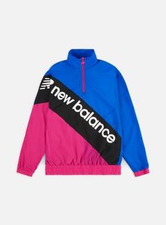 New Balance - Sport Style Optiks Anorak Jacket, Black/Multi