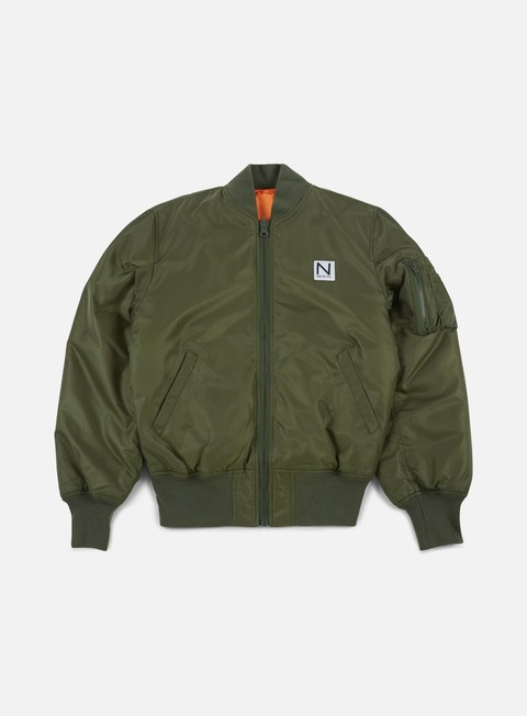giacche new black bomber jacket green