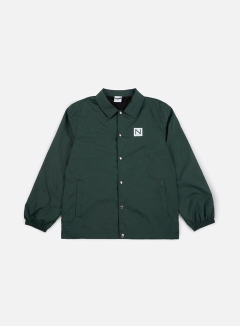 giacche new black coachy jacket beetle green