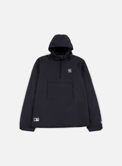 giacche new era border edge cagoule windbreaker ny yankees navy