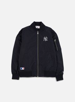 New Era - Concrete Bomber Jacket NY Yankees, Navy 1