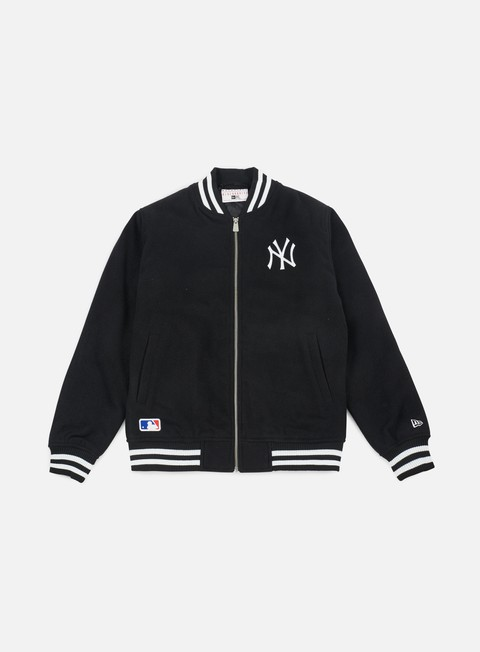 giacche new era east coast bomber jacket ny yankees black