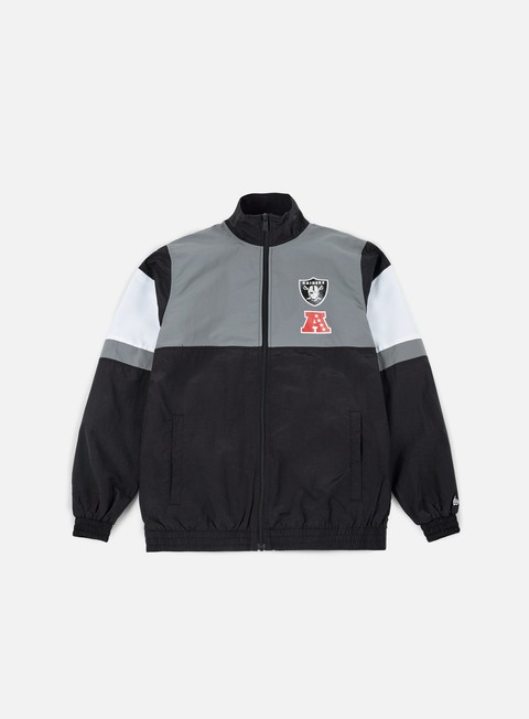 Track Top New Era FOR Track Jacket Oakland Raiders