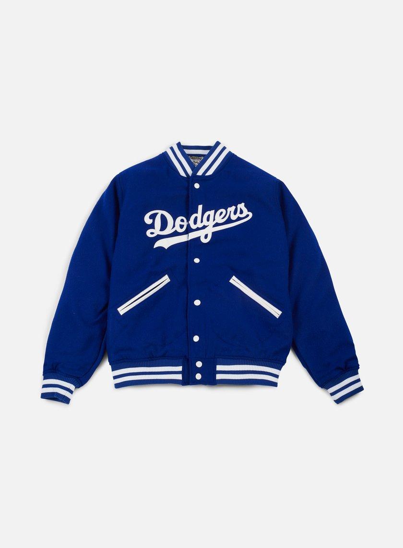 New Era - Heritage Varsity Jacket Brooklyn Dodgers, Royal Blue