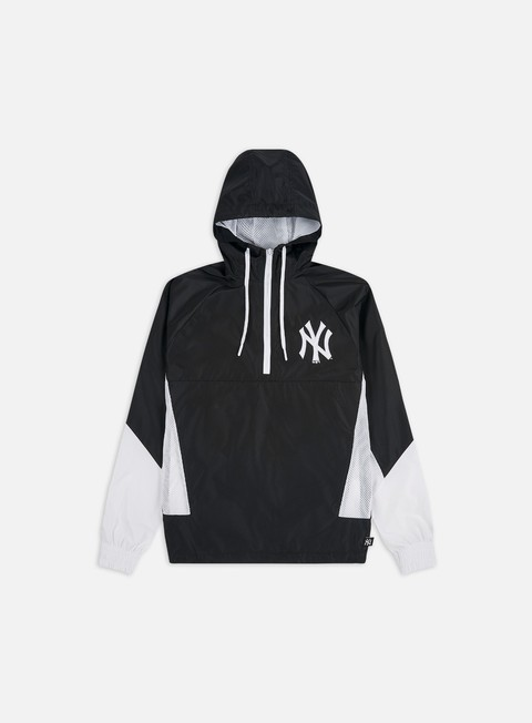 Light Jackets New Era MLB Print Infill Windbreaker NY Yankees