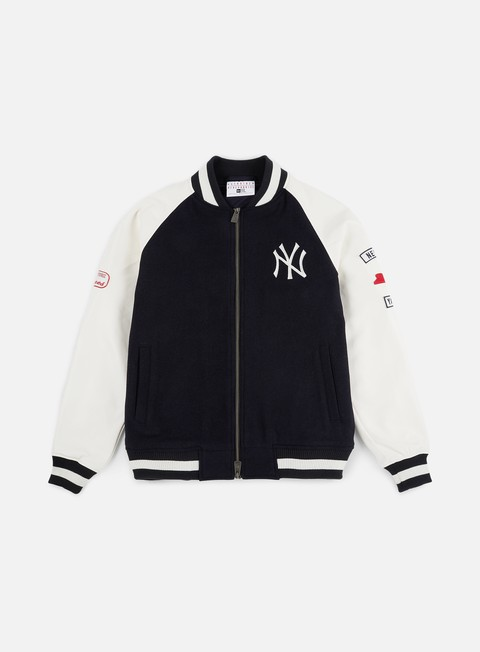 Bomber New Era MLB Raglan Varsity Jacket NY Yankees