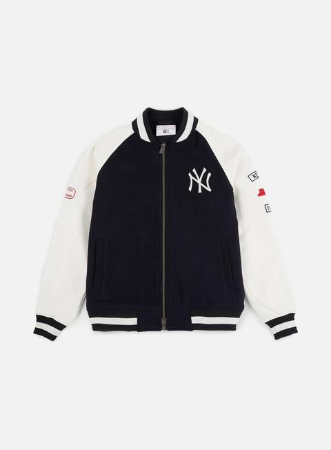 Outlet e Saldi Giacche Intermedie New Era MLB Raglan Varsity Jacket NY Yankees