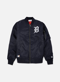 New Era - MLB Remix Bomber Jacket Detroit Tigers, Navy 1
