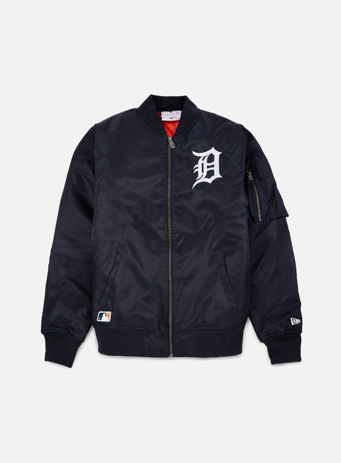 giacche new era mlb remix bomber jacket detroit tigers navy