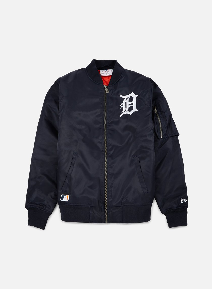 New Era - MLB Remix Bomber Jacket Detroit Tigers, Navy