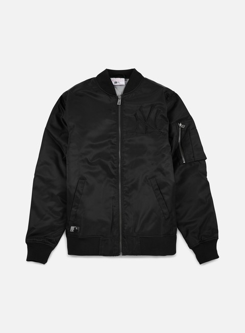 giacche new era mlb remix bomber jacket ny yankees black