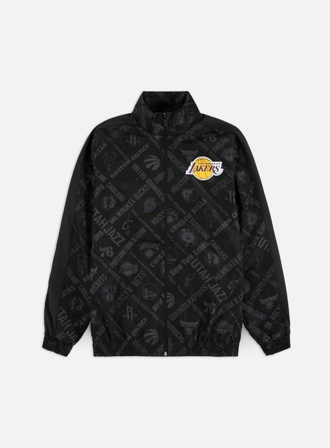 Light Jackets New Era NBA All Over Print Track Jacket LA Lakers