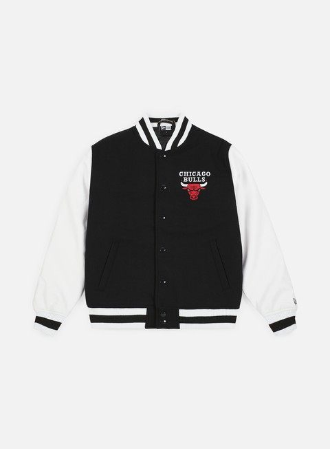 Bomber New Era NBA Contrast Varsity Chicago Bulls
