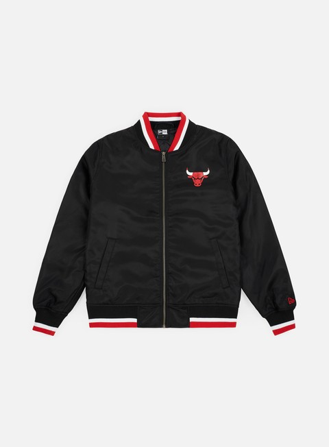 Bomber New Era NBA Team Apparel Varsity Chicago Bulls
