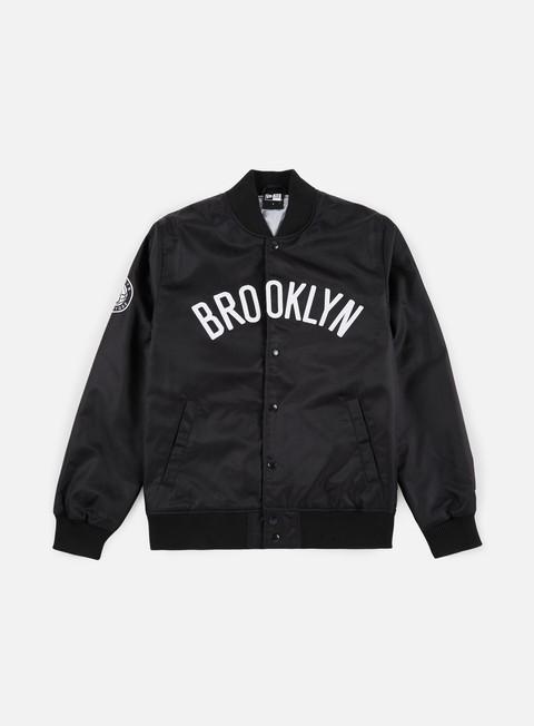 Outlet e Saldi Giacche Intermedie New Era NBA Team Wordmark Jacket Brooklyn Nets