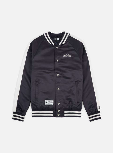 Light Jackets New Era NE Contrast Sleeve Varsity Jacket New Era
