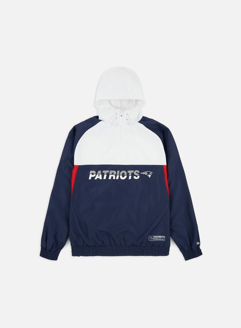 Giacche Leggere New Era NFL Colour Block Windbreaker New England Patriots