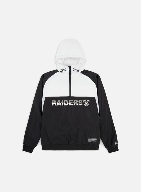 Light Jackets New Era NFL Colour Block Windbreaker Oakland Raiders