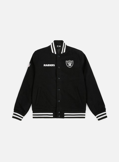 Bomber New Era NFL Team Apparel Bomber Oakland Raiders